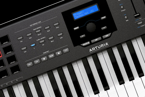 KeyLab 88 MkII –Black limited Edition